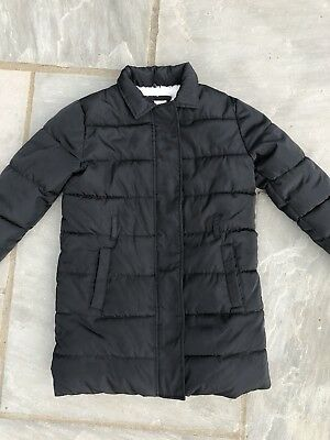 Girl's Marks & Spencers Coat Age 11-12 Years In Good Condition