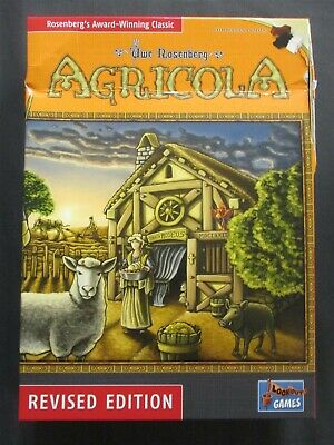 OEJ ~ Agricola ~ Revised Edition 2018 ~ Board Game ~ Lookout Games