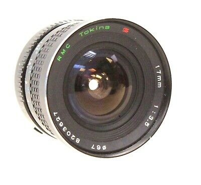 RMC TOKINA 17mm f/3.5 MD Mount Prime Camera Lens  - S60