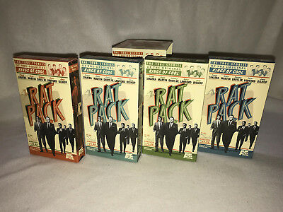 The Rat Pack, True Stories Of The Original Kings Of Cool, Frank Sinitra, Vhs