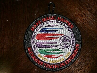 2019 24th World Scout Jamboree Alexander Triathlon Experience Patch