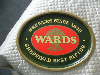 RARE Ward's Best Bitter Beer Serving Tray - Pub - Home Bar - Man Cave - Wards