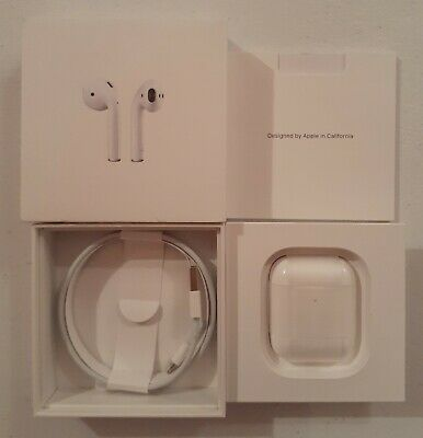 Apple AirPods 2nd Generation with Wireless Charging Case - White MRXJ2AM/A