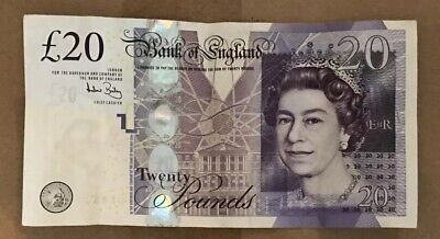 100 X20 £20 UK Note Realistic Pounds PROP MONEY 💰 ACTUAL SIZE DOUBLE SIDED 👀