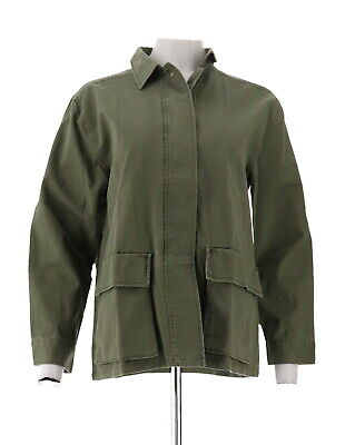 Daisy Fuentes Sequin Military Jacket Parrot XL NEW 595-660