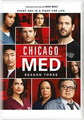 CHICAGO MED TV SERIES COMPLETE SEASON THREE 3 New Sealed DVD