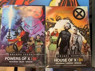 Marvel X-Men Promo House of X Powers of X Krakoa Seed Packets