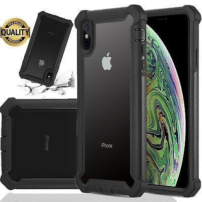 Heavy Duty Shockproof Clear Case For iPhone 11 Pro Max XS Max XR X 6 6s 7 8 Plus