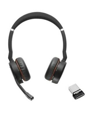 7599-838-109 - Jabra 75 UC Evolve Stereo Wireless Headset