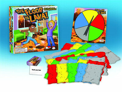 The Floor is Lava! Easy to Play Board Game for Kids and Adults (Ages 5+) UKSTOCK