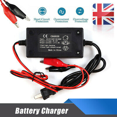 Battery Charger Portable Car 12V Auto Trickle Maintainer Boat Motorcycles RV Hot