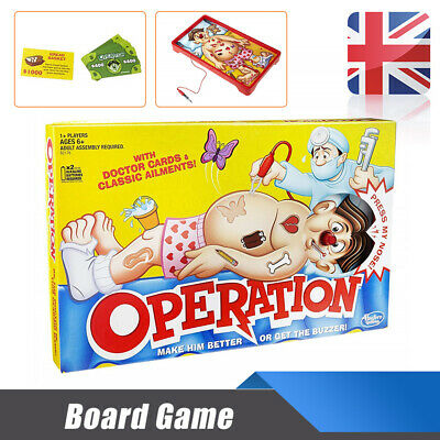Operations Family Kids Classic Boards Games Fun Childrens Xmas Gifts Toys NEW UK
