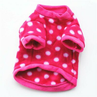 Autumn Winter Dog Clothes Thick Warm Coat Cotton Fabric Jacket Pullover Jf