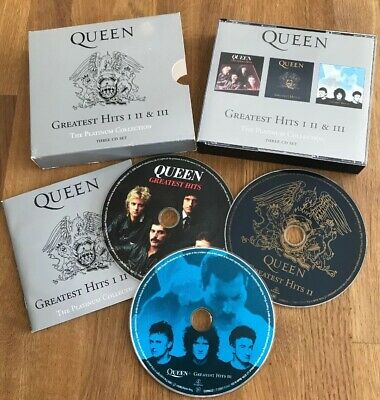 Queen - Greatest Hits I II & III The Platinum Collection- 3 x CD Box Set (2000)