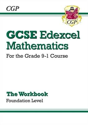 New GCSE Maths Edexcel Workbook: Foundation - for the Grade 9-1 C...