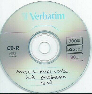 mitel mini voice 6.2 programming sw.