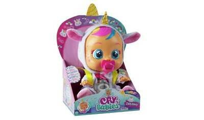 Cry Babies Dreamy the Unicorn Doll Cutest Baby If They Have Their Dummy NEW_UK