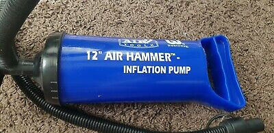 Bestway Air Hammer Inflation Pump 12 with 2 Attachments USED VGC