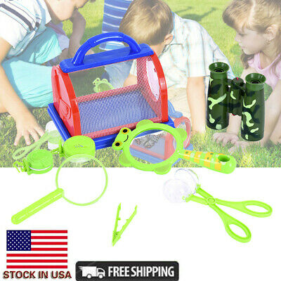 Outdoor Bug Catcher Kit For Kids-12Pcs Bug Insect Catching  Observation Kit-Bug