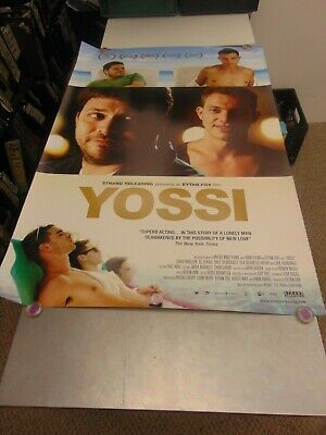 Yossi 2012 Eytan Fox Lgbtq Movie Poster N6713
