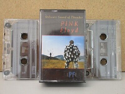 Pink Floyd Delicate Sound Of Thunder Live 1988 Cassette X 2 (Best Of In Concert)