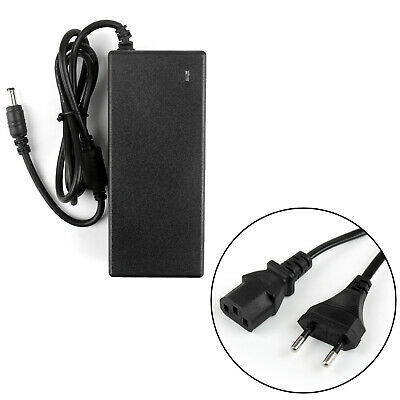 1Set 12V 5A Laptop Adapter+EU Pg Power Supply Adapter Cable For CCTV Security