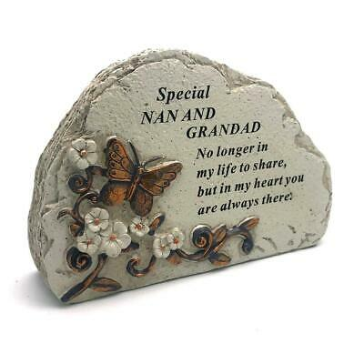 Nan & Grandad Graveside Memorial In Loving Memory Butterfly Design DF18387NG
