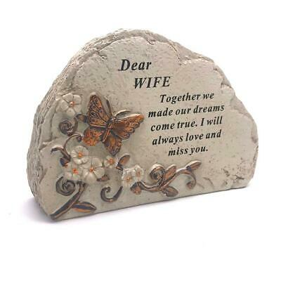 Wife Graveside Memorial In Loving Memory Butterfly Design DF18387N