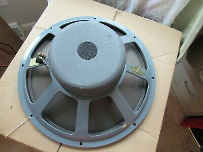 "Jbl Model D-130 One 15"" Woofer/Driver/Speaker. Jim Lansing. Cork. Works-Used-Usa"