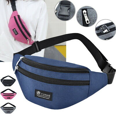 Sports Belly Waist Bum Bag Fanny Fitness Running Jogging Cycling Belt Pouch Pack