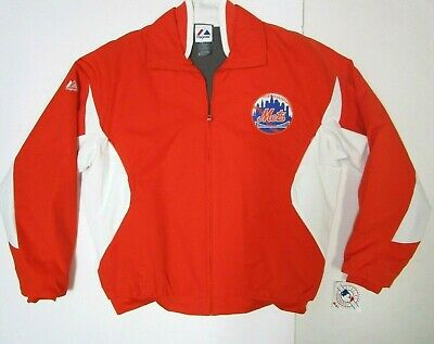 New York Mets Jacket New W Tags Majestic Authentic Collection  Mens Medium