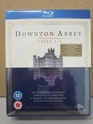 DOWNTON ABBEY- Series 1-4 -The Complete Collection NEW (13-DVD) Christmas