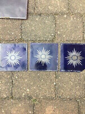 Stained Lead Coloured Glass Panels Victorian Or Edwardian Era For Window Door
