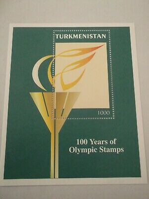 1997 Turkmenistan Olympic Games M/S m/m Mi.67, C7