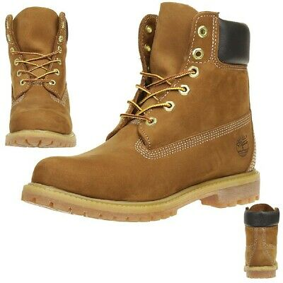 Details about WOMENS TIMBERLAND BOOTS IN 2 COLOURS WHEAT AND RUST NUBUCK **REDUCED**