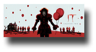 """It Chapter 2 Movie Poster 11""""x17"""" Pennywise TWO II Wide SameDay Ship from USA"""