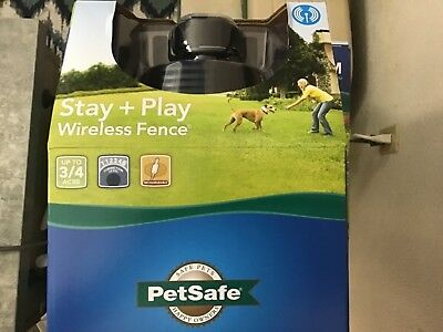 PetSafe PIF00-12917 Stay + Play Wireless Fence System ***NEW***