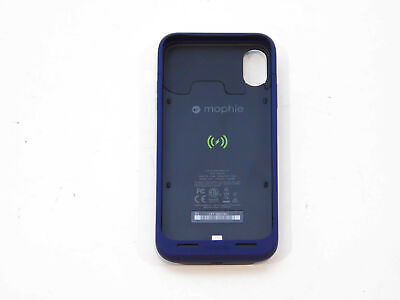 Mophie Juice Pack Air Protective Battery Case for iPhone X Blue