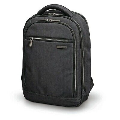 Samsonite Modern Utility Small Backpack Charcoal Heather Ripstop Polyester