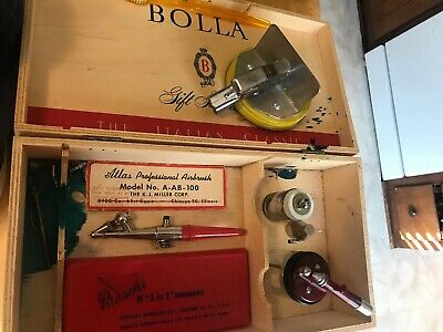 Paasche Vintage Airbrush And Other Vintage Airbrushing Tools