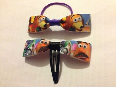 Handmade Toy Story Hair Bow Bobble And Clip Set