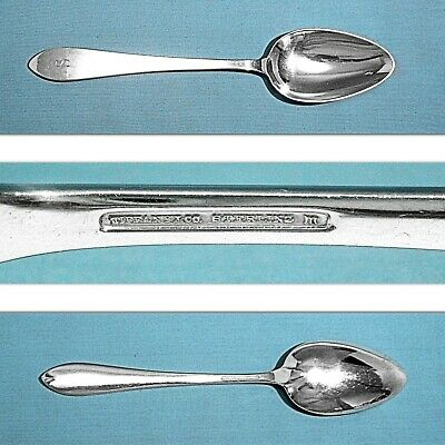 """Tiffany & Co Sterling 8 3/4"""" Serving Spoon ~ Faneuil ~ Mono S"""
