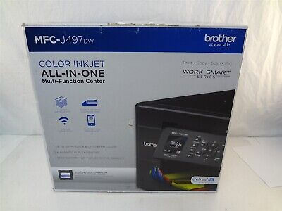 Brother MFC-J497DW Wireless Color Inkjet All In One MultiFunction Center Printer