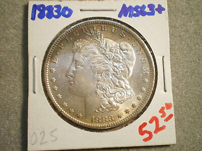 1883-O MORGAN SILVER DOLLAR/ NICE TONING  <:=Ungraded=:>--FREE SHIPPING---------