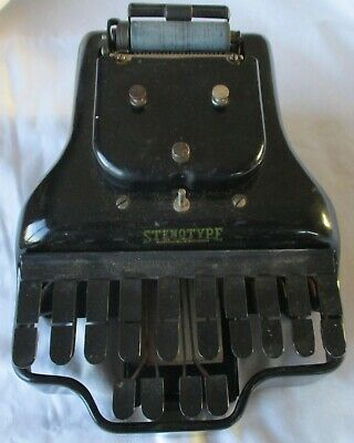VINTAGE COURT REPORTERS MECHANICAL STENOTYPE SHORTHAND MACHINE Ca 1913