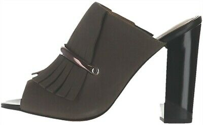 G.I.L.I Kilted Leather Mules Pressley Stonewall Women/'s 10 New