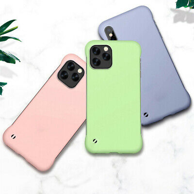 Ultra Thin Candy Frameless Case For iPhone 11 Pro Max 7 8 XR XS Max Matte Cover