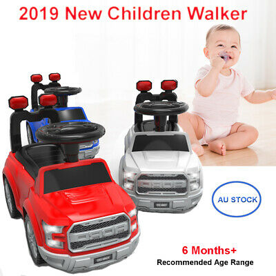 Kids Ride-On Toy  Car Push Foot-to-Floor Toddler Baby Walker Music Children