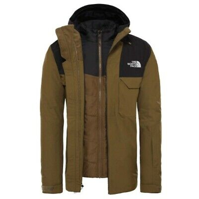 The North Face Fourbarrel Triclimate Military Olive/Tnf Black NF0A3M4MWMB1/