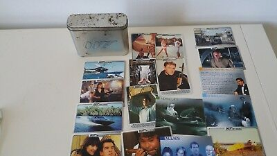 James Bond 007 Spy Files Tin Plus 20 Cards